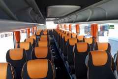 interni - Volvo 9700 - 53 posti con WC + WI-FI