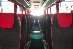 Interni - Mercedes Tourismo 57 posti con WC + WI-FI