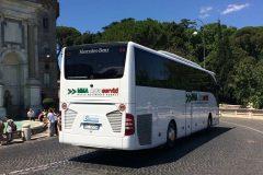 Mercedes Tourismo 53 posti con WC + WI-FI