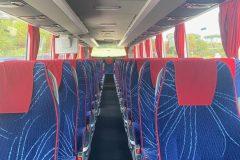 Interni - Mercedes Tourismo 53 posti con WC + WI-FI