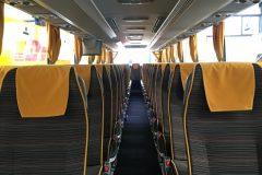 Interni - Mercedes Tourismo 61 posti + WC + WI-FI